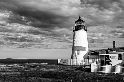 New England Lighthouse Original by John Covin