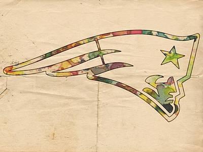 New England Patriots Poster Art Print by Florian Rodarte