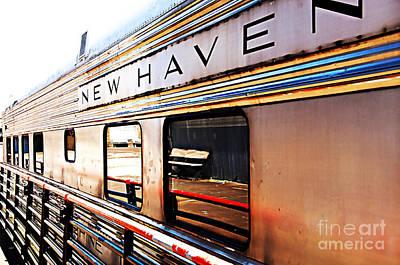 New Haven Print by Nancy E Stein