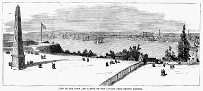New London, Connecticut Print by Granger