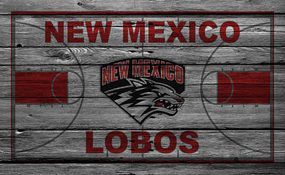 New Mexico Lobos Print by Joe Hamilton