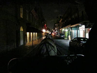 New Orleans - City At Night - 12129 Print by DC Photographer