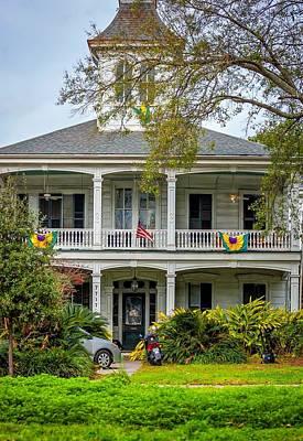 New Orleans Frat House Print by Steve Harrington