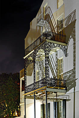 New Orleans Hot Summer Night Print by Christine Till