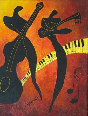 New Orleans Jazz Print by Pamela Allegretto