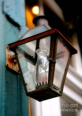 Vintage Lamp Photograph - New Orleans Lamp by Carol Groenen