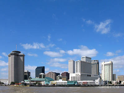 Downtown Area Photograph - New Orleans Louisiana by Olivier Le Queinec
