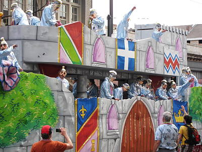 Parade Photograph - New Orleans - Mardi Gras Parades - 1212102 by DC Photographer