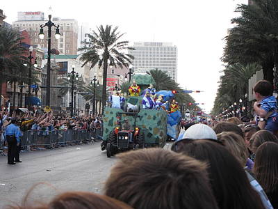New Photograph - New Orleans - Mardi Gras Parades - 121212 by DC Photographer