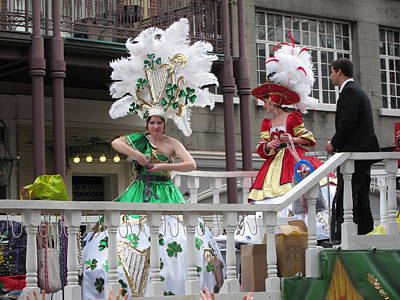 New Orleans - Mardi Gras Parades - 121298 Print by DC Photographer
