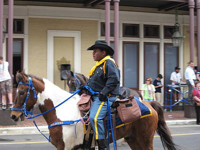 New Orleans - Mardi Gras Parades - 121299 Print by DC Photographer
