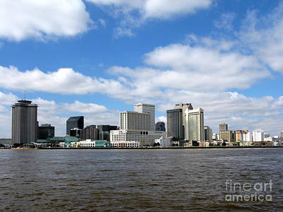 Downtown Area Photograph - New Orleans by Olivier Le Queinec