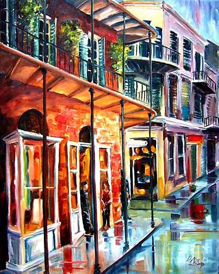 New Orleans Rainy Day Print by Diane Millsap
