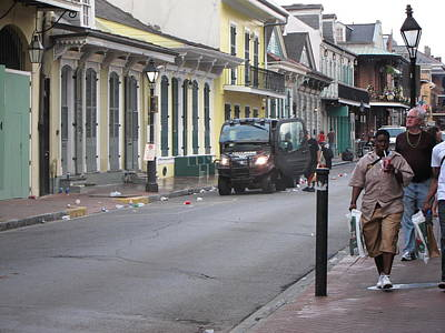 New Orleans - Seen On The Streets - 121252 Print by DC Photographer