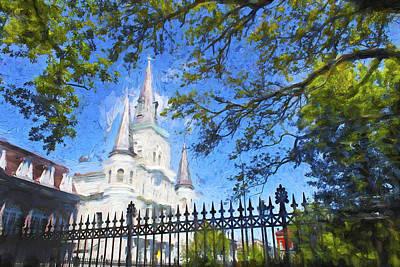 Bob Ross Photograph - New Orleans Series 52 by Carlos Diaz