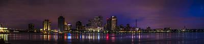 New Orleans Skyline Print by David Morefield