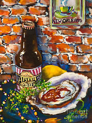 New Orleans Treats Print by Dianne Parks
