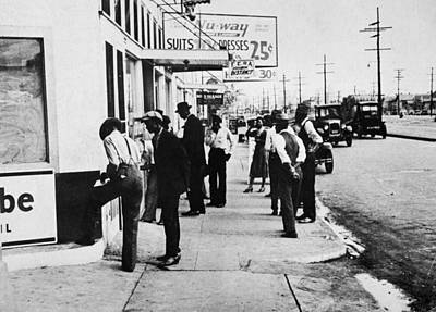 New Orleans Unemployed, 1935 Print by Granger