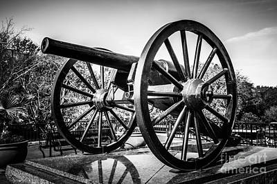New Orleans Washington Artillery Park Cannon Print by Paul Velgos