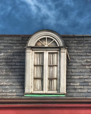 New Orleans Window Print by Brenda Bryant