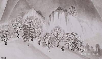 Taikan Painting - New Seiseiruten By Taikan Nishimoto by Taikan Nishimoto