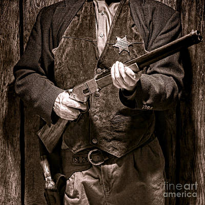 Law Enforcement Photograph - New Sheriff In Town  by Olivier Le Queinec