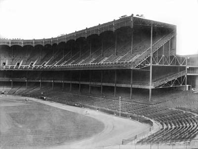 Yankee Stadium Photograph - New Yankee Stadium by Underwood Archives