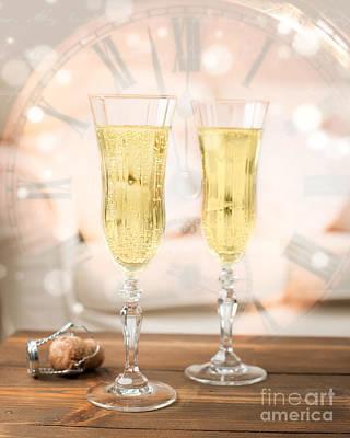 Sparkling Wines Photograph - New Year Celebration by Amanda Elwell