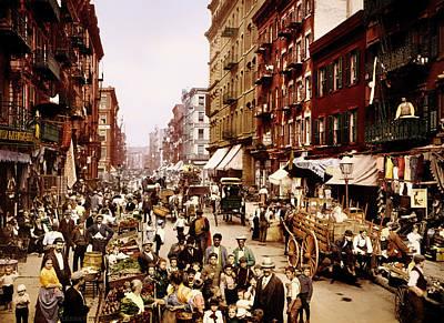 New York City 1900 Print by Mountain Dreams