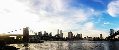 World Trade Center Photograph - New York City Bridges by Nicklas Gustafsson