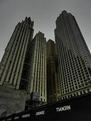 New York City Photograph - New York City - Lower Manhattan 005 by Lance Vaughn