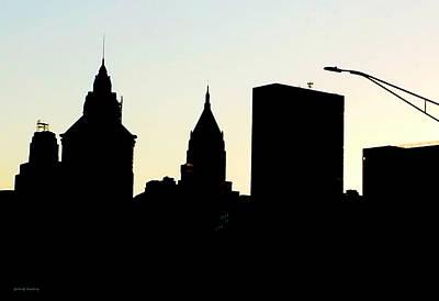 Black_white Photograph - New York City Skyline by Gerlinde Keating - Galleria GK Keating Associates Inc