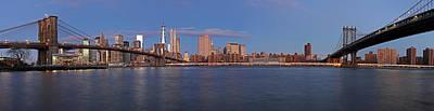 New York City Skyline Panorama Print by Juergen Roth