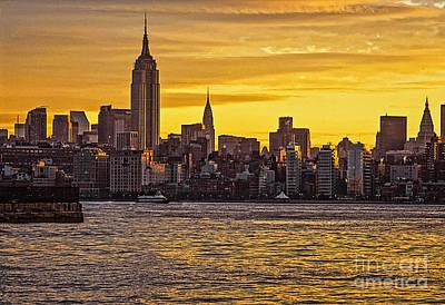 New York City Skyline Original by Zbigniew Krol