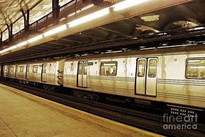 New York City Subway 2 Print by Sarah Loft