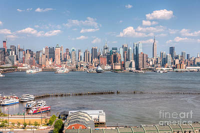 Empire State Building Photograph - New York City Summer Skyline I by Clarence Holmes