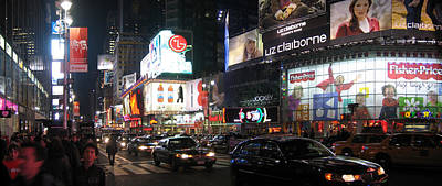 Square Photograph - New York City - Times Square - 121225 by DC Photographer