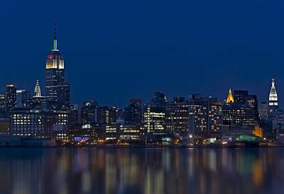 Usa Photograph - New York City Twilight by Susan Candelario