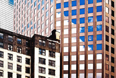 Miniature Nyc Photograph - New York City Windows by Kellice Swaggerty