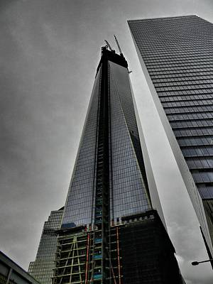 New York City - World Trade Center 001 Print by Lance Vaughn