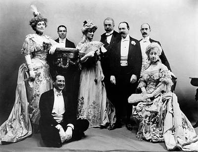 Whitehouse Photograph - New York Costume Party by Granger