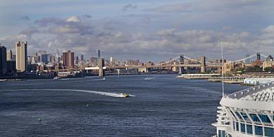 New York Cruising  Print by Betsy Knapp