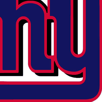 New York Giants Football 2 Original by Tony Rubino