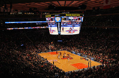 New York Knicks Print by Juergen Roth