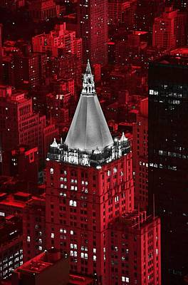 New York Life Building Print by Marianna Mills