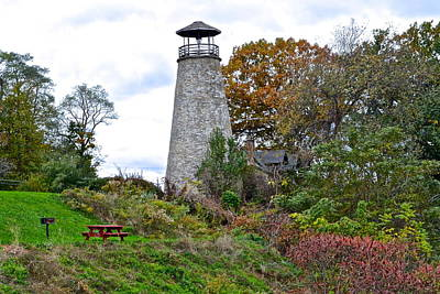 New York Lighthouse Print by Frozen in Time Fine Art Photography