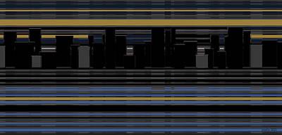 Artwork Digital Art - New York Reflections by Sir Josef - Social Critic - ART