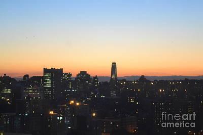 New York Skylight Print by Robert Daniels