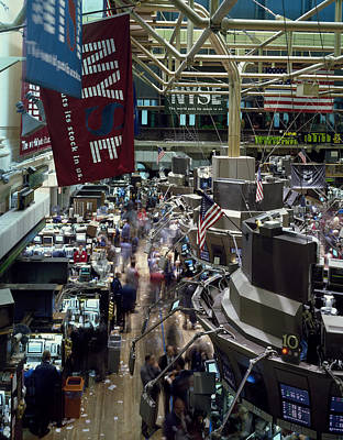 Frenzy Photograph - New York Stock Exchange by Mountain Dreams