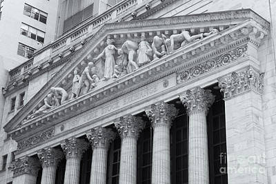 Black Commerce Photograph - New York Stock Exchange II by Clarence Holmes